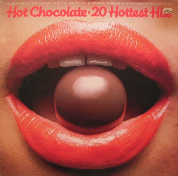 Hot Chocolate 20 Hottest Hits Cool Album Covers Vinyl Records