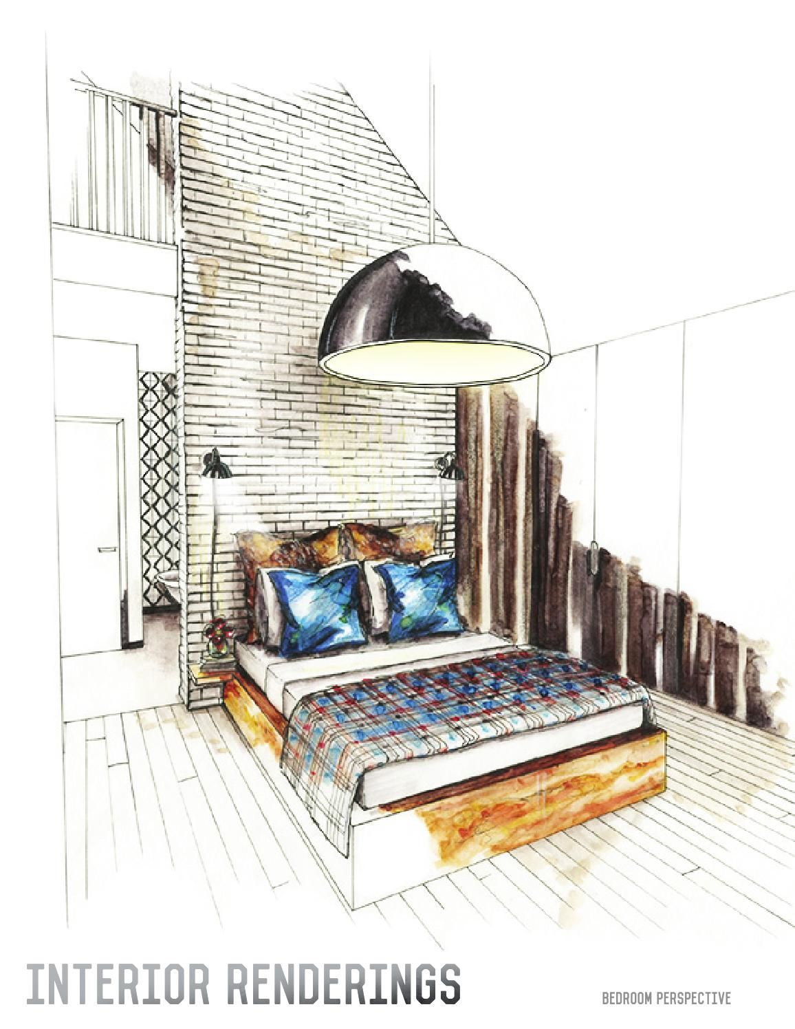 Interior design portfolio interior design portfolios for Architectural drawings online