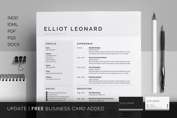 Resume Templates That Look Great In   Resume Cv Creative