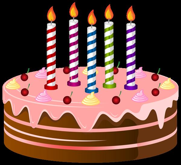 Birthday Cake PNG Clip Art Image