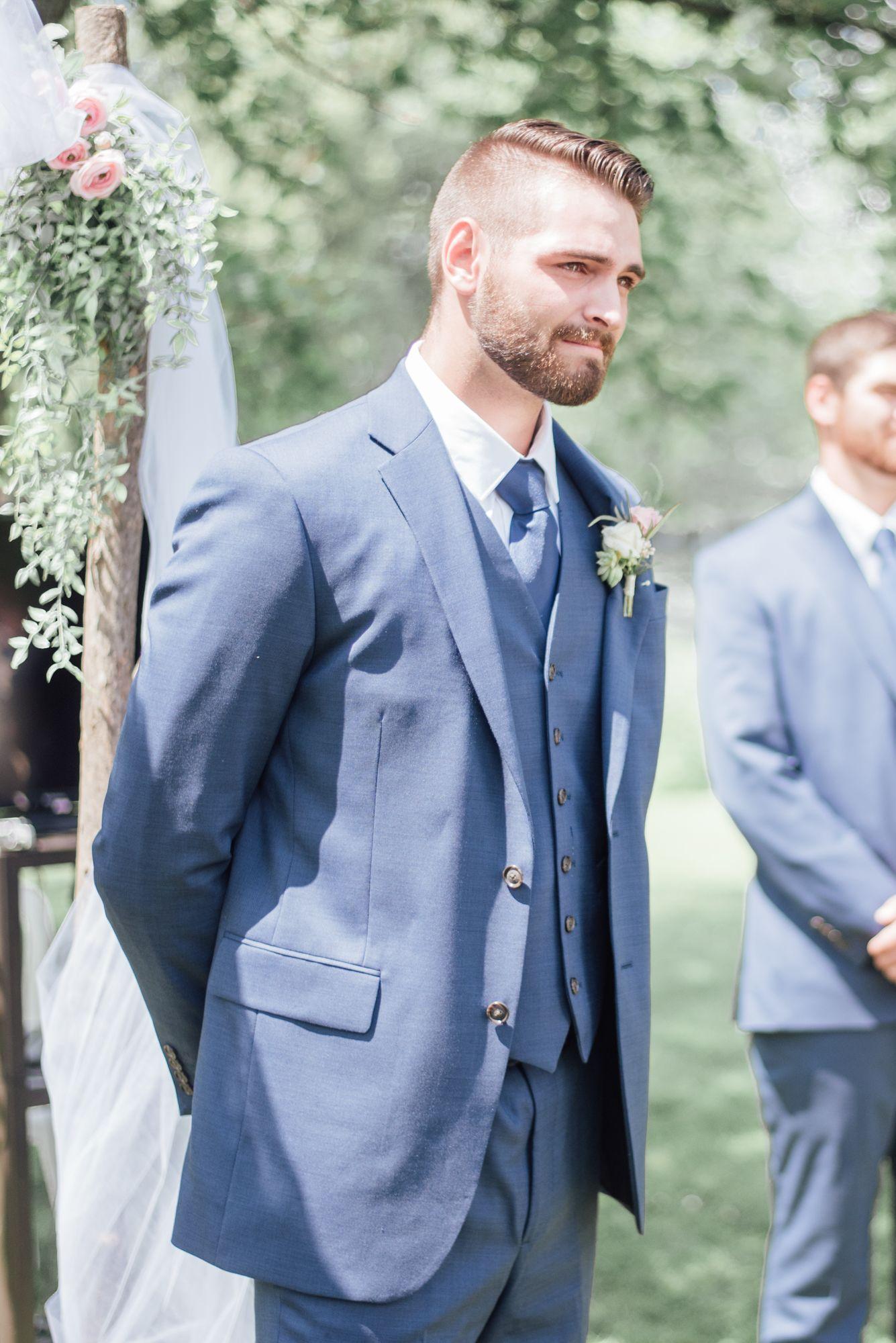 Rueb Wedding | Groom reaction, Photographers and Photography