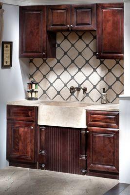 Beige Travertine Farmhouse Sink Sinks Decoratives Floor Decor Stone Countertops Kitchen Rustic