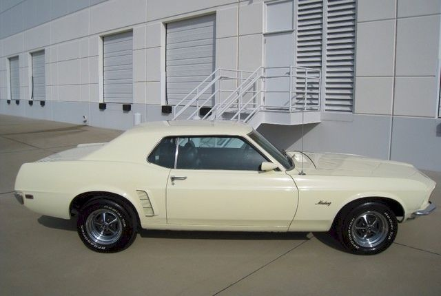 Meadowlark Yellow 1969 Mustang Hardtop Mustang Mustang Coupe Yellow