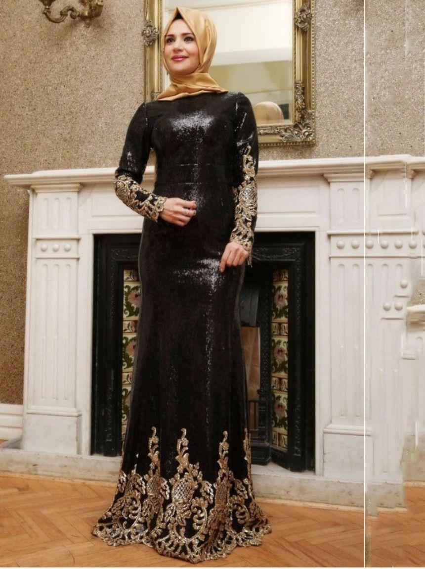 Gaun Pesta Muslimah Model Panjang Busana Dresses Evening