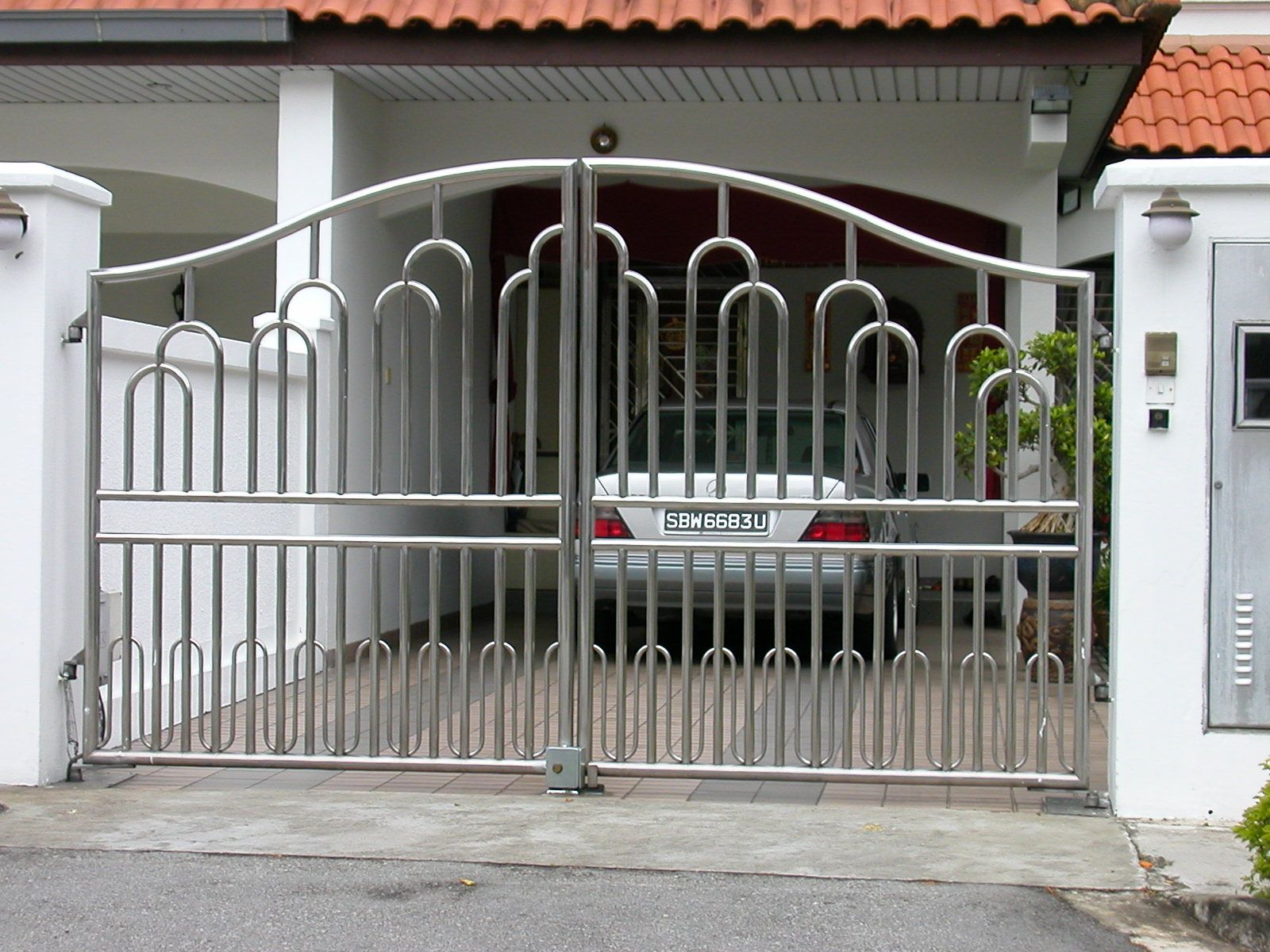 Stainless Steel Main Gate SS Main Gate Steel Main Gates Delhi Stainless Steel Gate
