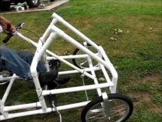 American Speedster: The PVC Bike Car
