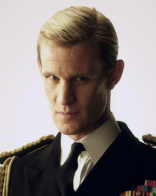 Matt Smith As Philip Mountbatten In The Crown Matt Smith Handsome Actors The Crown Season