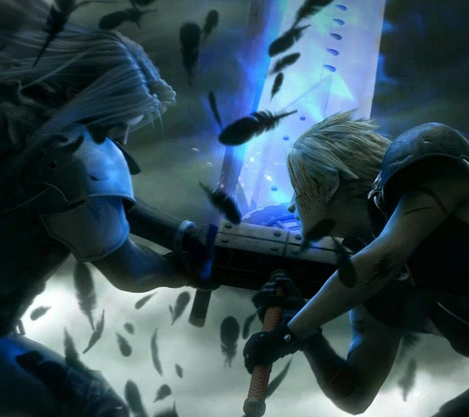 Final Fantasy Cloud And Sephiroth With Images Final Fantasy
