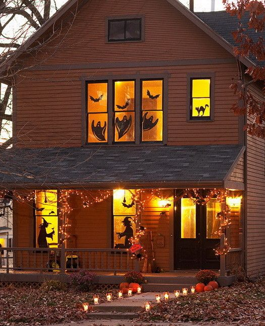 34 Scary Outdoor Halloween Decorations And Silhouette Ideas - how to make halloween decorations for yard