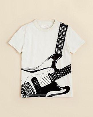 John Varvatos Boys' Guitar Short Sleeve Tee - Sizes S-XL | Bloomingdale's