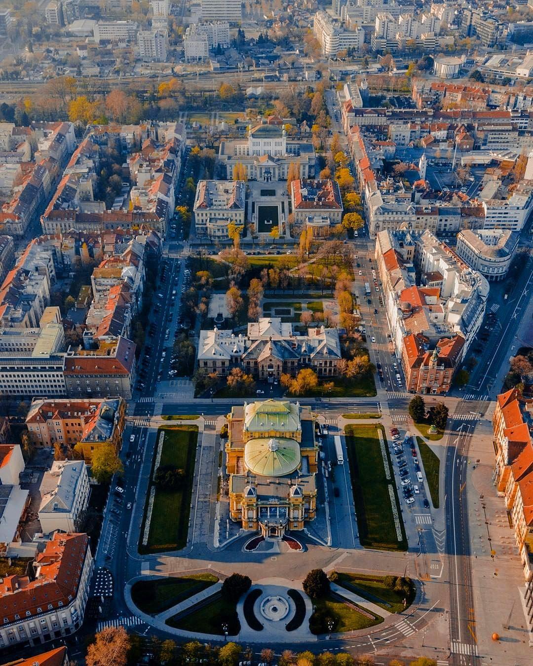 Zagreb Croatia City Cities Buildings Photography Zagreb Croatia Zagreb Croatia