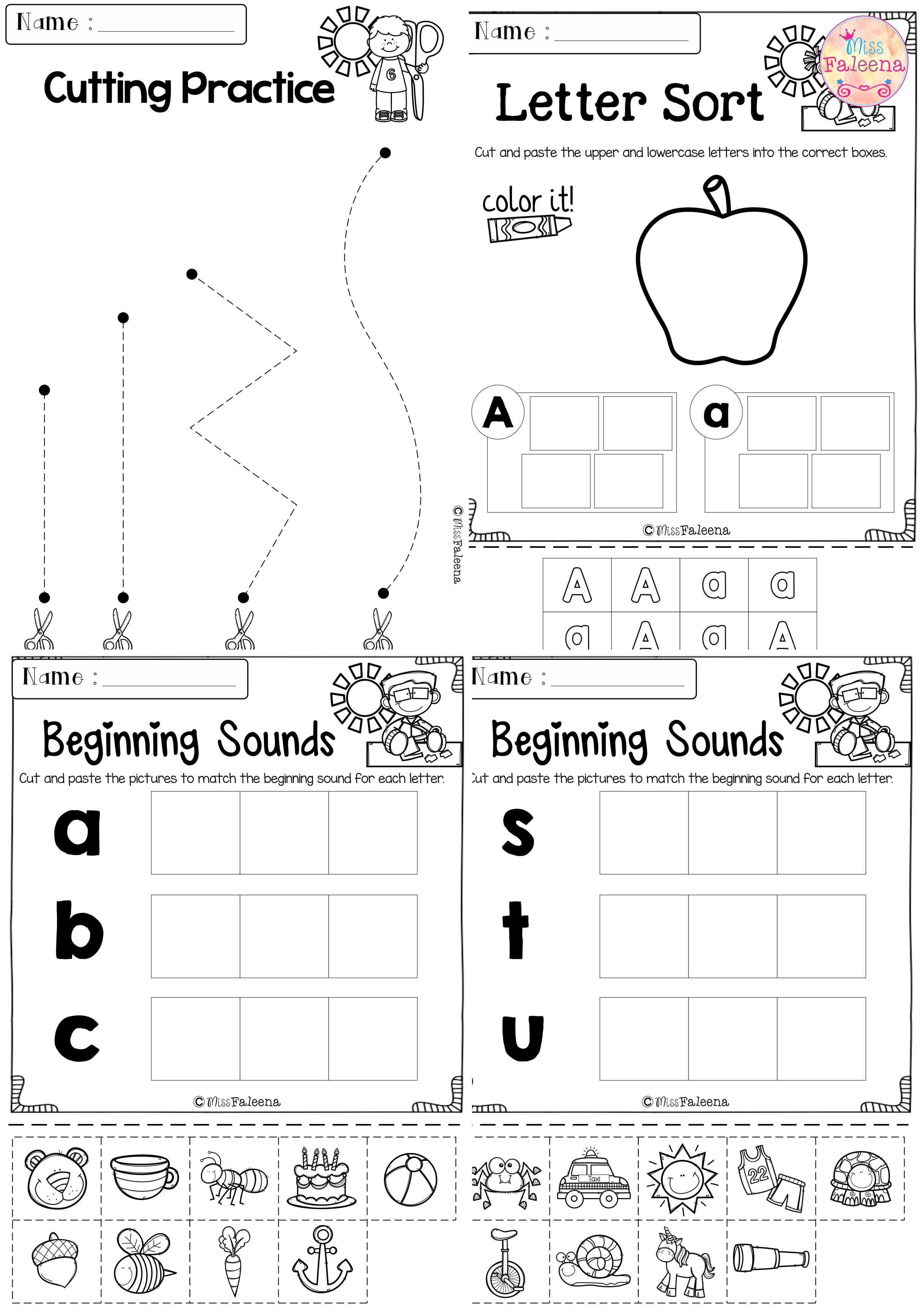 Kindergarten Morning Work Set 2