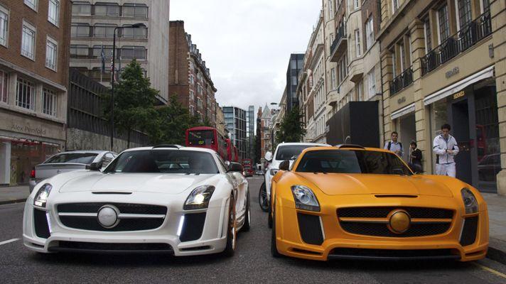 Bbc Top Gear Gallery Meet The Supercars Of London Fab Design Sls Times Two Super Cars Mercedes Benz Sls Amg Mercedes Benz