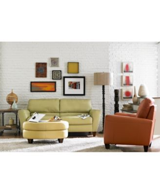 Superbe Almafi Leather Living Room Chair $569.00 Achieve The Chic Look. Available  In A Fresh Variety Of Attractive Muted Colors, The Leather Almafi Chair  Takes On A ...