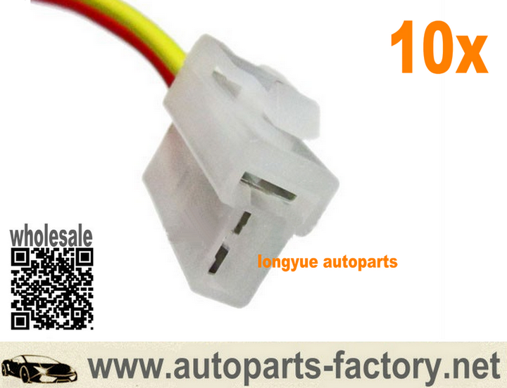 long yue 10pcs Alternator Plug Repair Harness Connector Denso ...  Wire Harness Plugs on wire connector plug, wire power plug, wire rope plug, battery plug, wire handcuffs, cable harness plug, radiator plug, fuel tank plug, queen harness plug, alternator plug,