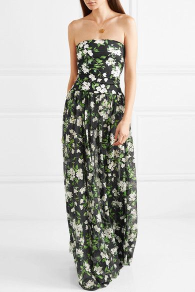 Sale Cost Adam Lippes Woman Wrap-effect Floral-print Devor Cheap 2018 Unisex Sale Perfect Cheap Very Cheap Get Authentic MVhpMz2