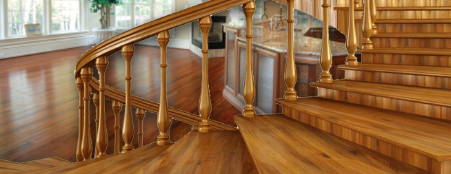 Best Wood Stairs Railings Refinishing Rockland County Ny 400 x 300