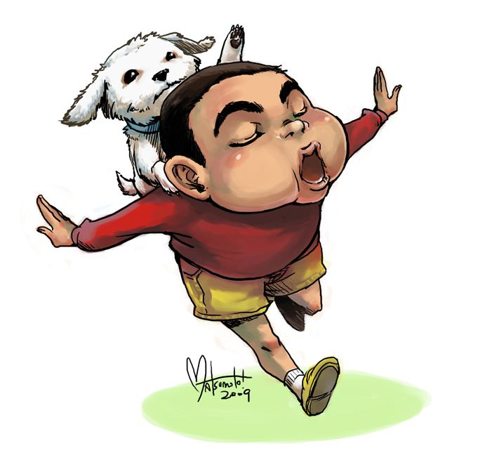 Crayon Shin-Chan By Spacecoyote