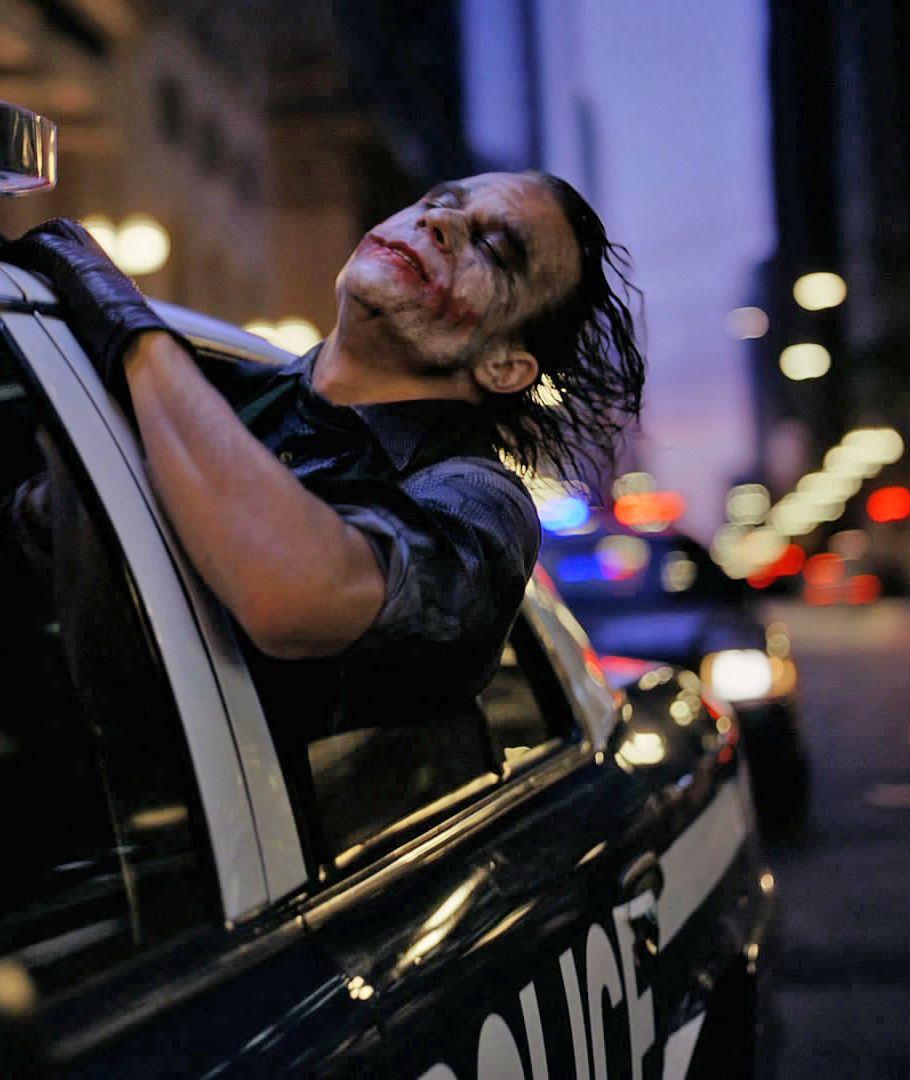 Heath Ledger April 4 1979 January 22 2008 As The Joker In