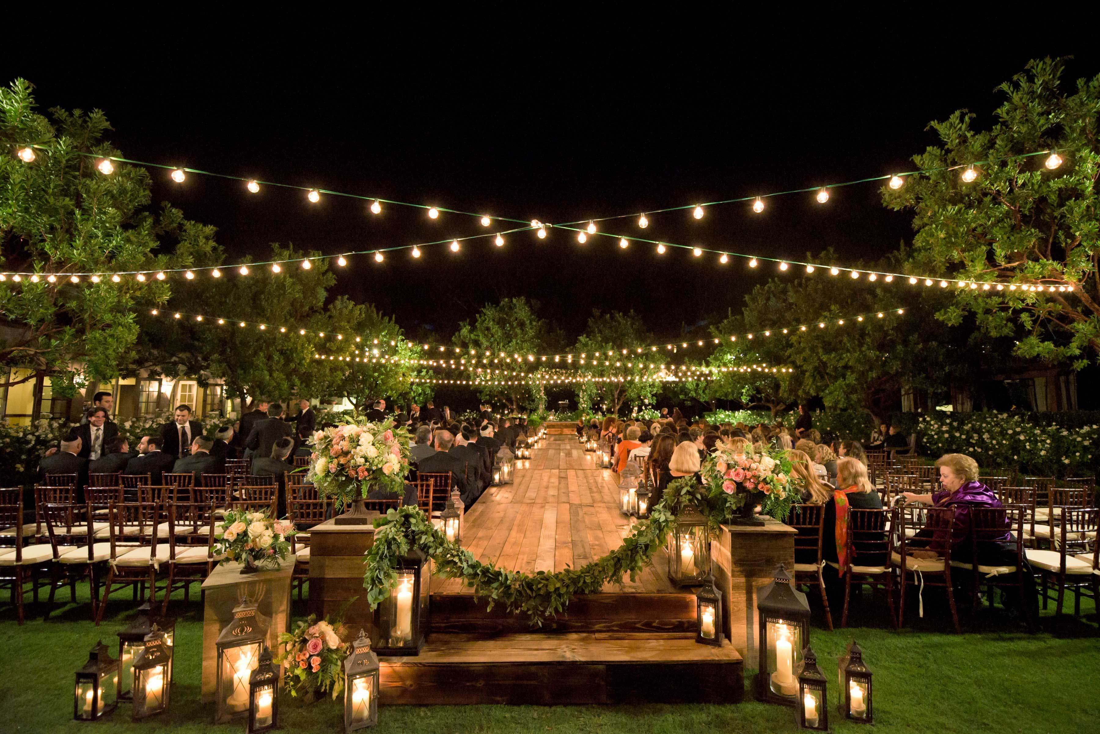 5 Gorgeous Nighttime Ceremonies To Inspire You Wedding