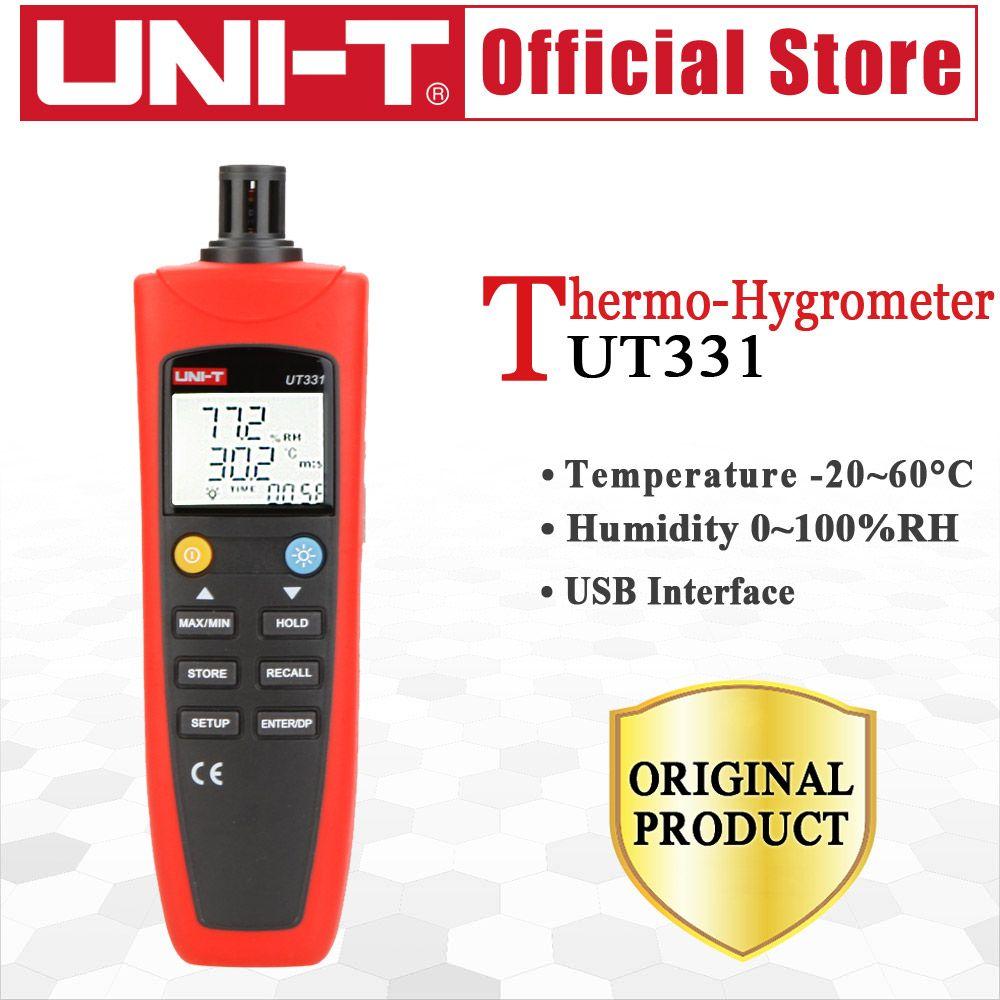 UT331 Digital Thermo Hygrometer