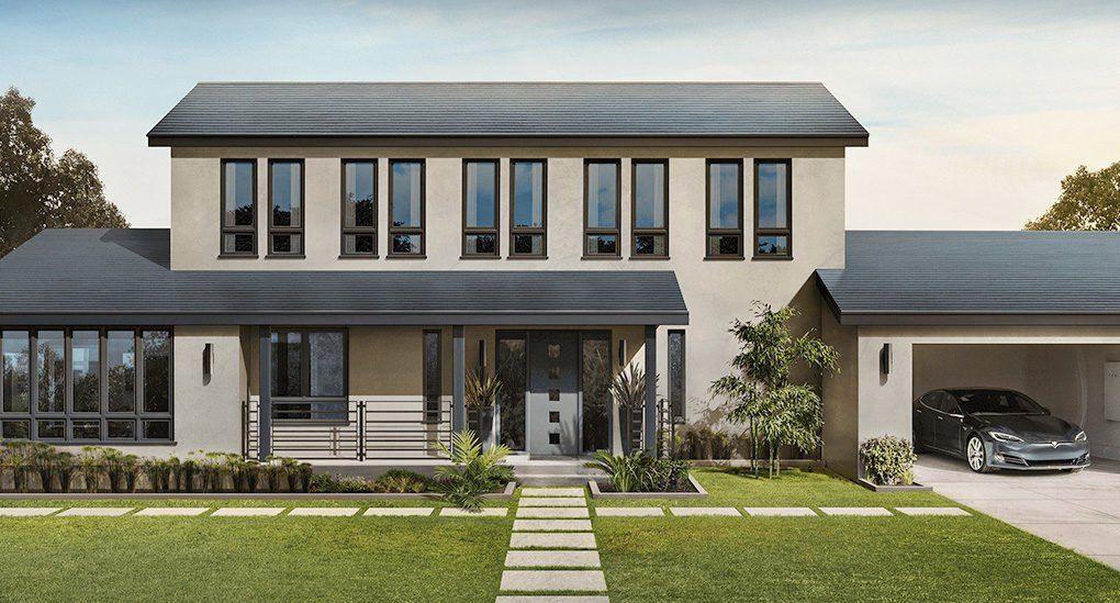 Tesla Solar Panel House Tesla Solar Roof Solar Roof Solar Energy For Home