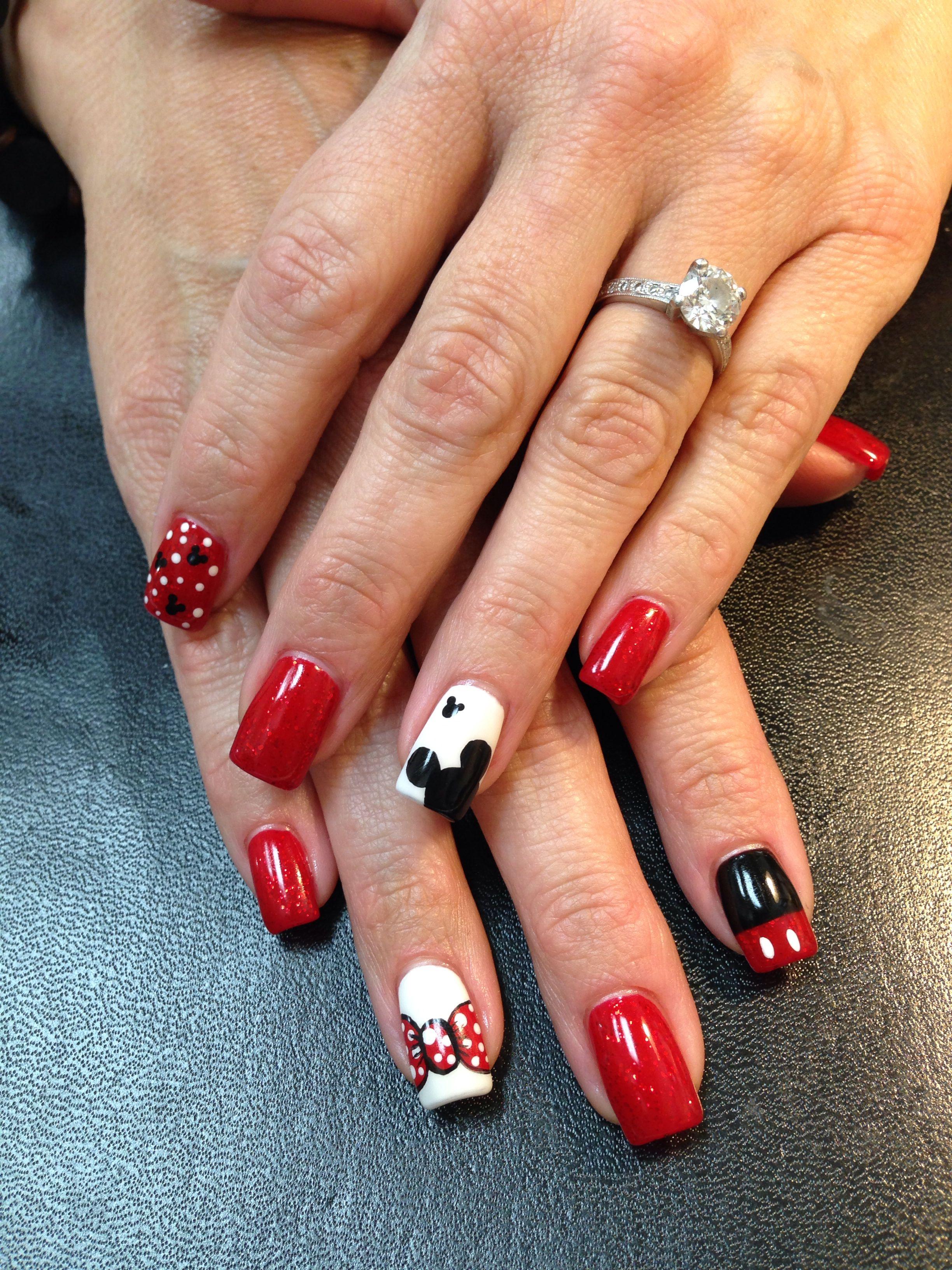 Disney nails   Nails   Pinterest   schöne Nägel, Nagelschere und Schöner
