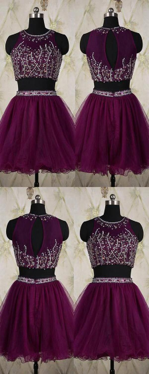 Discount suitable two pieces homecoming dress homecoming dress