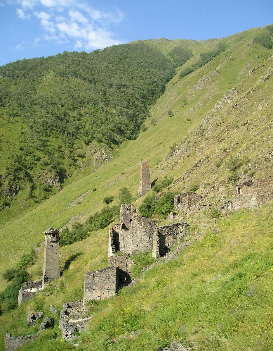 Nakh towers, Chechnya | North Caucasus Land