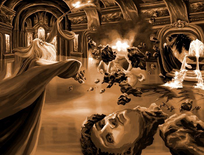 The Only One He Ever Feared By Beeeb Deviantart Com On Deviantart Magical Art Harry Potter Harry Potter Universal