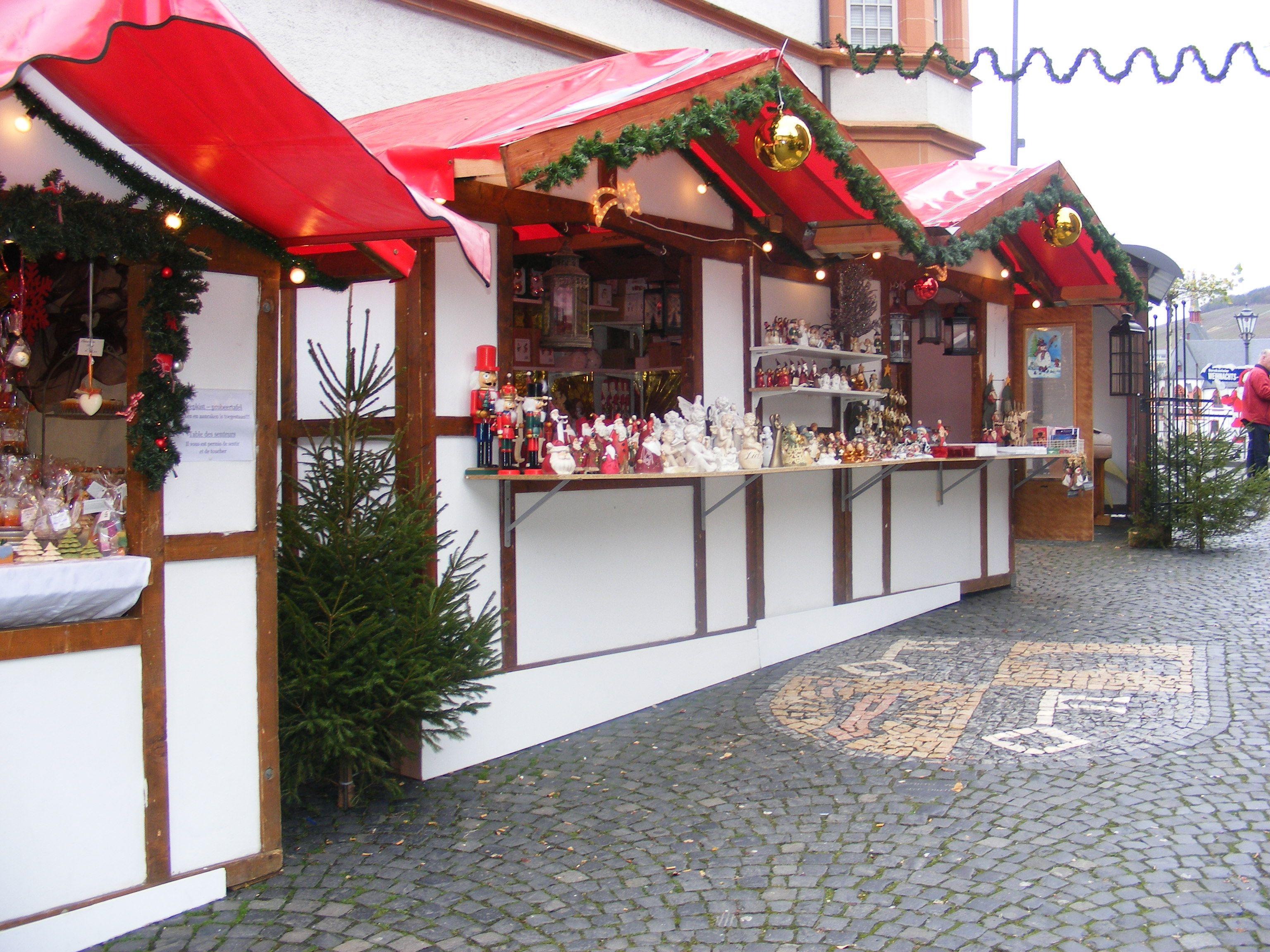 Weihnachtsmarkt. Bernkastel