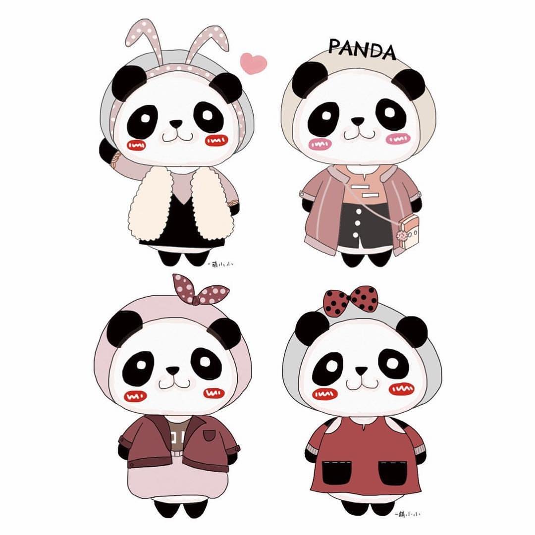 doodle Panda Google Search Panda artwork, Panda