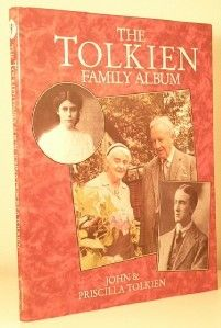 MARCH 25 2012 J & P Tolkien | The Tolkien Family Album. This biography looks at the family life of the writer, including his affair with Edith Bratt, his war experiences and of course the writing of his books. Includes memorabilia, photographs, illustrations and even some bizarre fan mail.  Today is Tolkien Reading Day  £60.00