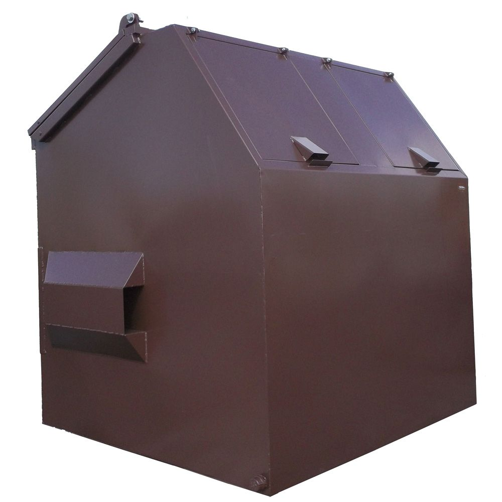 Teton Series Model T800 Bear Proof Dumpster Bear Proof Container Tetons Dumpster