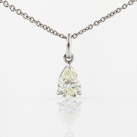 choker halsband diamant