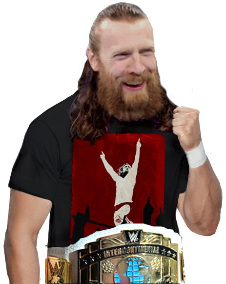 Daniel Bryan Former Wwe Intercontinental Champion Mens Tshirts Wwe Wrestlers Champion