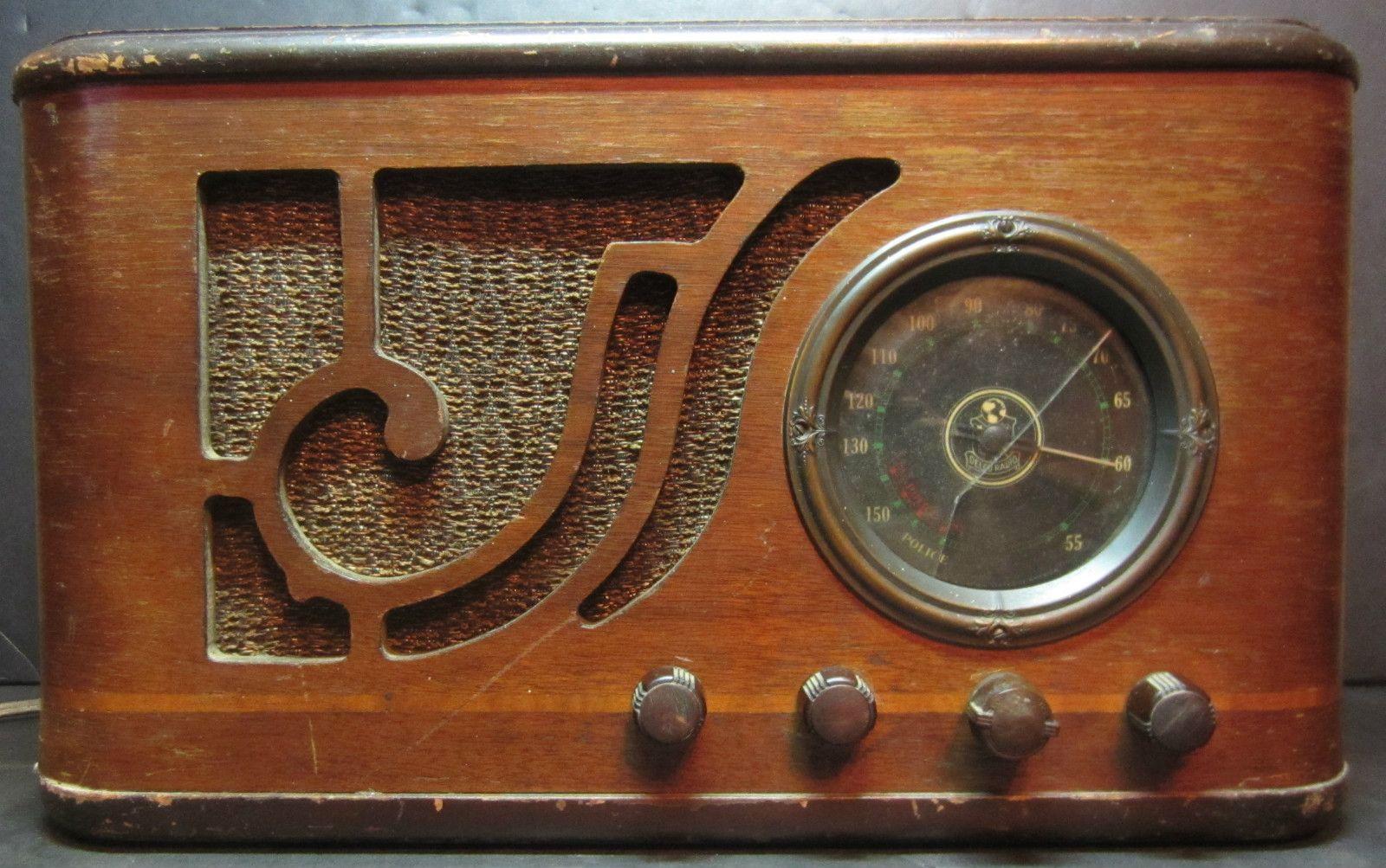 1949 Philco 49 906 Am Fm Radio Not Working For Restoration Or Parts Ebay Vintage Radio Antique Radio Radio