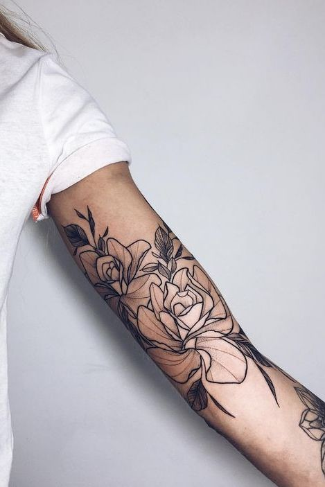 Best Looking Arm Tattoos for Girls | Girl arm tattoos, Forearm tattoo women, Cool arm tattoos