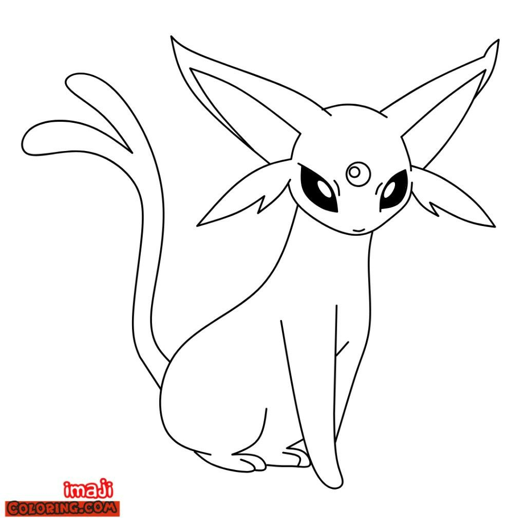 One Of The Pokemon Eeve Evolution Espeon Another Pokemon Coloring Pages Just Visit Our Blog Pokemon Coloring Pages Pokemon Coloring Coloring Pages