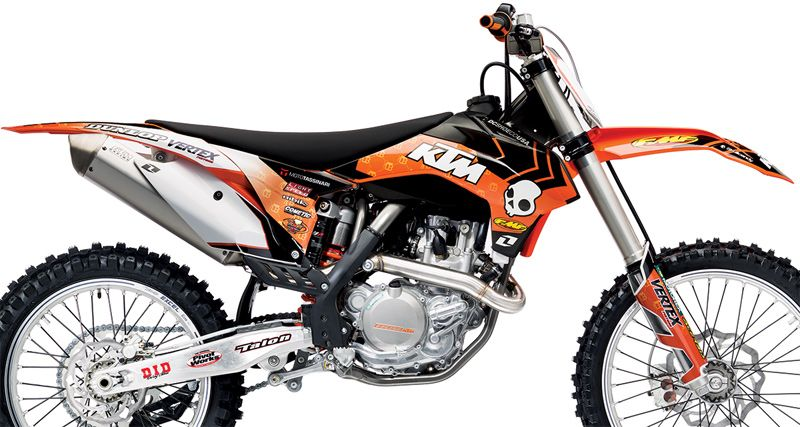 One Industries 2013 Orange Brigade Graphics Kit Ktm Ktm Graphic Ktm Motocross