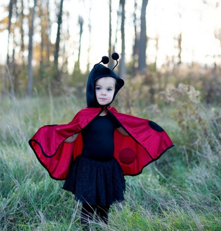 Baby Cape Umhang Marienkafer Verkleiden Fasching Karneval Pinterest