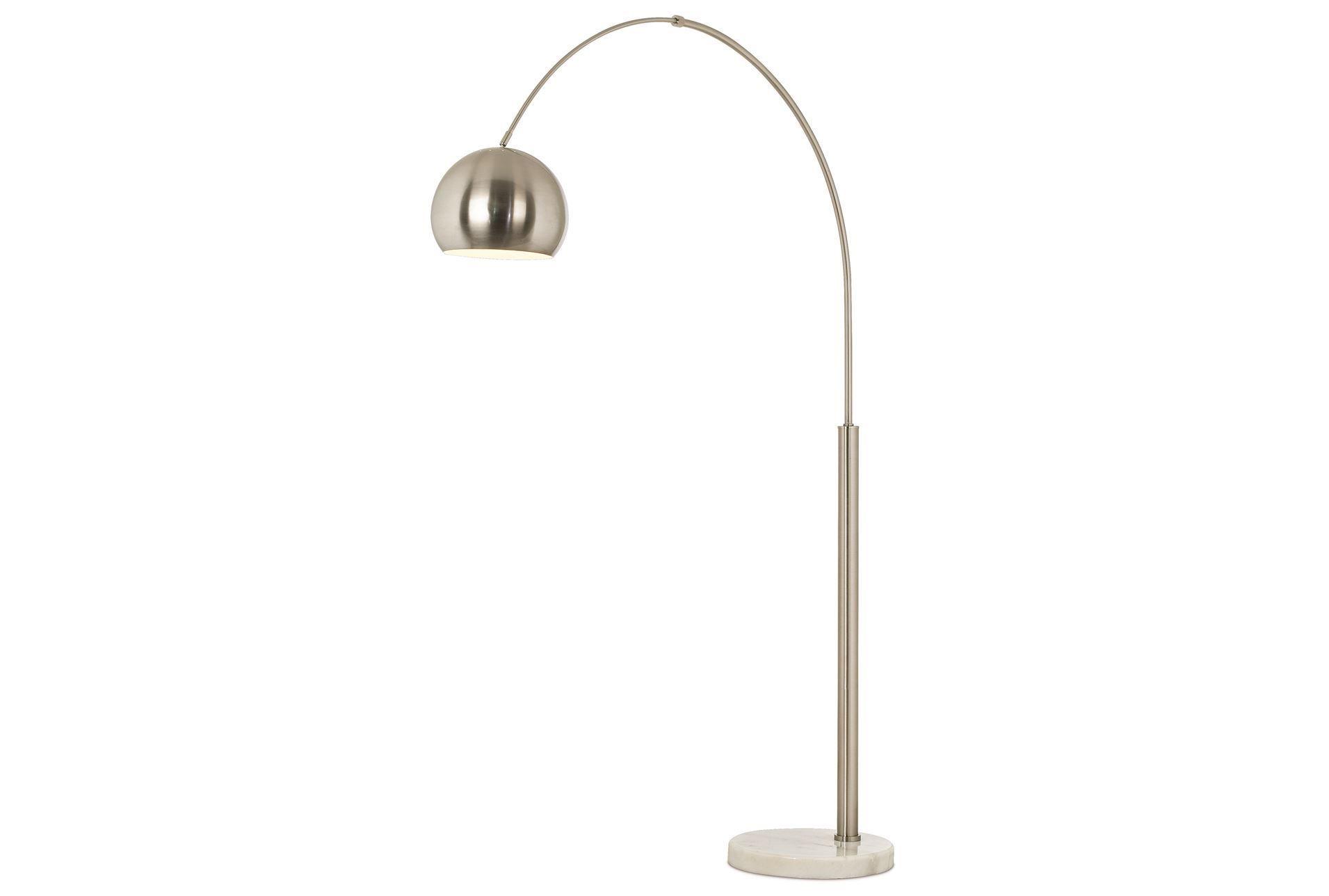 Floor Lamp Haight Nickel Arc