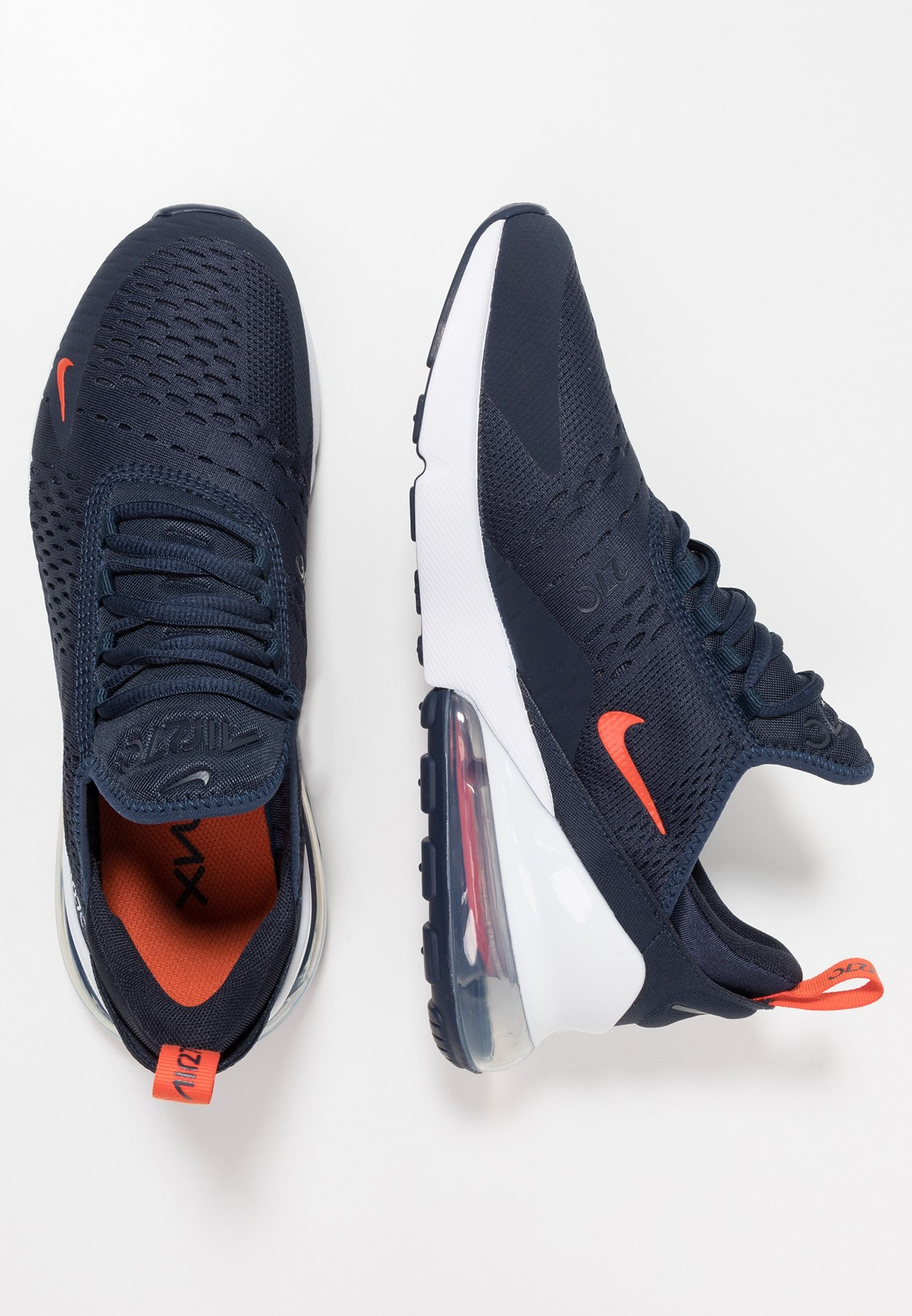 629ae6ea2e0358 Nike Sportswear AIR MAX 270 WE - Sneakers laag - cool grey blue fury -  Zalando.nl