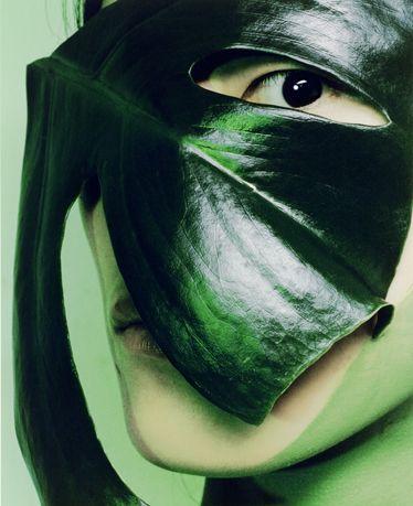 Nijinsky inspired make up shoot by Michael Baumgarten.