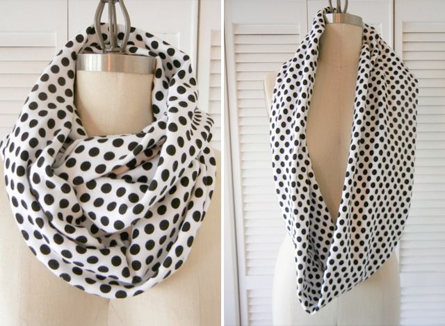 How to Make an Infinity Scarf   Outfit de invierno, Pashminas y Molde
