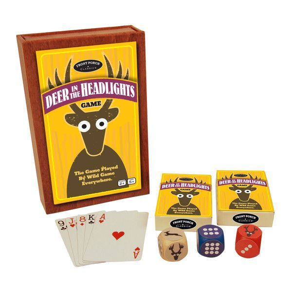 Card Games & Poker Cheap Sale Front Porch Deer In The Headlight Family Card Table Game Sealed Nib Toys & Hobbies