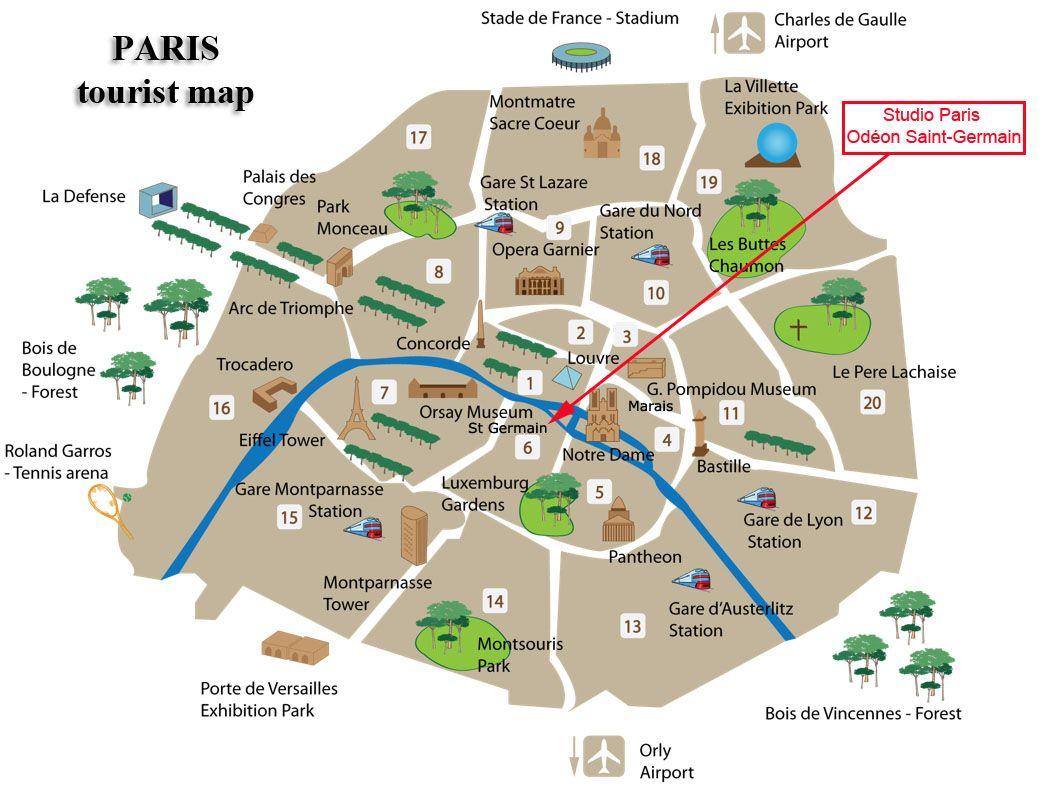 paris tourist map paris tourist mapjpg