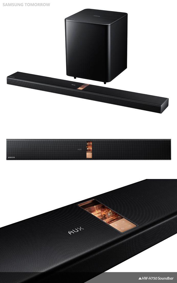 Samsung S Hw H750 Soundbar Sound Bar Home Theater Sound Bar Audio Design