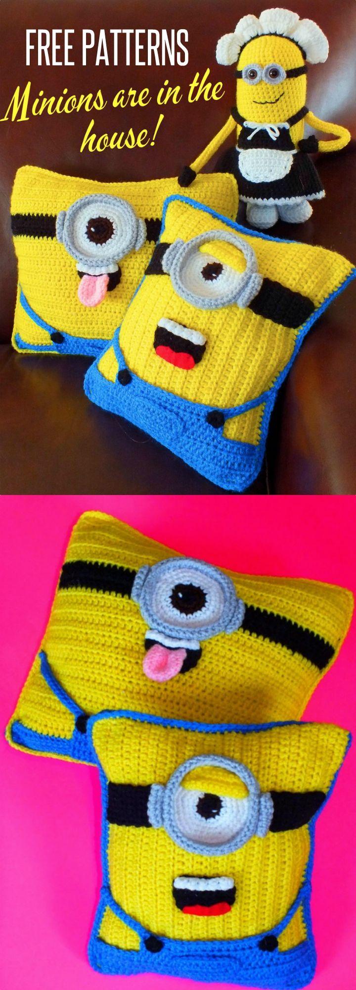 Crochet Minion Pillow Free Pattern All The Best Ideas