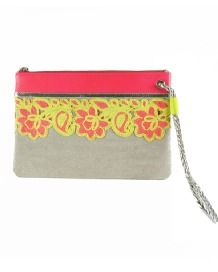 FLORAL NEON CLUTCH BAG http://www.sweetlimeuk.com/product/SWB+015/Floral+Neon+Clutch+bag